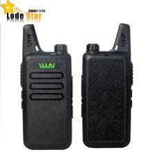 HOT Ultra Thin KD-C1 MINI Walkie Talkie UHF 400-470 MHz handheld FM transceiver two way Ham CB Radio communicator interphone