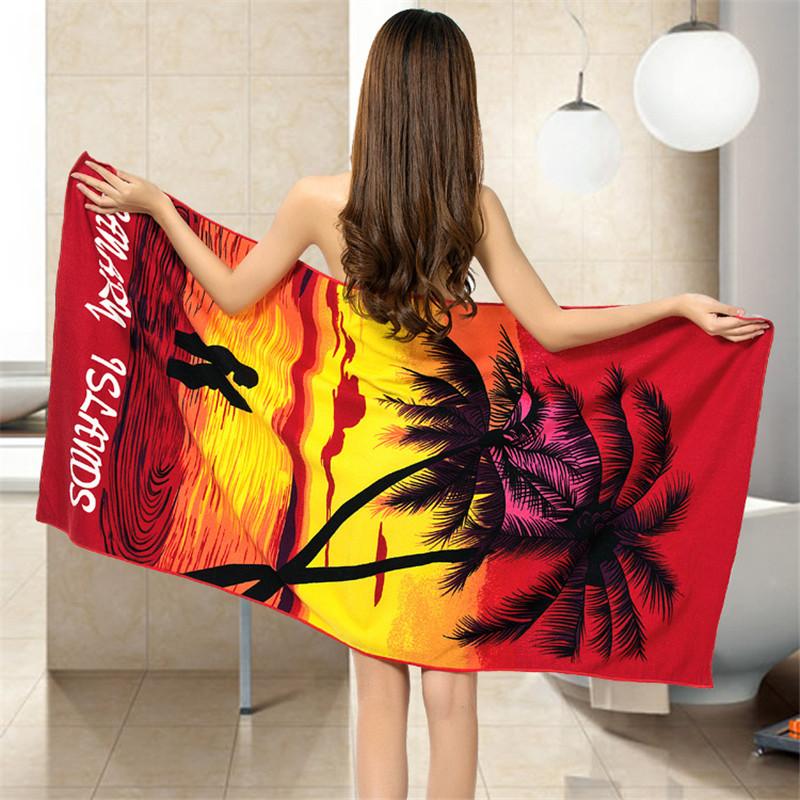 Micro Fiber Printed Beach Towel 140*70cm 27