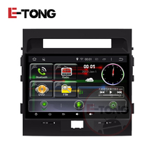 Android 4.4 10.1 Inch Quad Core Touch Screen Car DVD GPS PC For Toyota Landcruiser 200 Support Steering Wheel Car Camera OBD2 3G(China)
