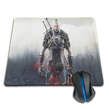 Babaite Witcher 3 Anti-Slip Rubber Mouse Mat 180*220mm 200*250mm or 250*290mm Pad Funny on-Slip Durable Rectangle Mouse Pad(China)