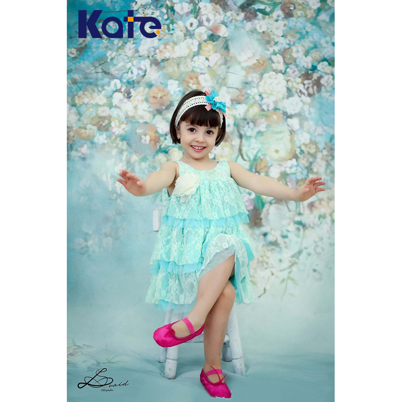 Kate Fantasy  Digital Printed Background Fundo Flowers Bright Mura Backgrounds Photography Studio Child Photography Lk 3887<br>