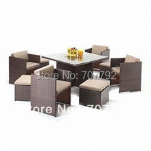 All Weather Outdoor wicker furniture/dining set