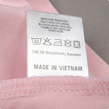 Free  shipping1000pcs/lot custom garment  satin  care labels customizedclothing  labels T-shirt bags woven wash label tag
