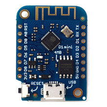 WEMOS D1 mini V3.0.0 - WIFI Internet of Things development board based ESP8266 4MB MicroPython Nodemcu Arduino Compatible(China)
