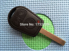 1 pc of 3 Button Uncut Blade Car Key Replacement Remote Key Case Shell for BMW E31 E32 E34 E36 E38 E39 E46 Z3 Fob Uncut key case