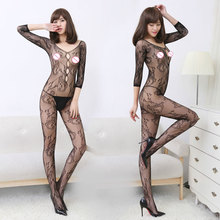 Sexy Lingerie Costumes Netting Intimates Sleepwear Dragon Pattern Hollow Nightwear Hot Costumes Sexy Dress for Women Teddy