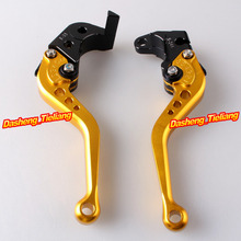 Adjustable Racing Short Brake Clutch Levers For Suzuki 2004 2005 GSXR 600 750 K4 04 05 Aluminum Alloy CNC Machined(China)