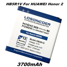 3700mah LOSONCOER HB5R1V For Huawei honor 2 battery honor 3 Ascend G500 G600 U8950D U8950 T8950 U9508 U8832D U8836D C8826D