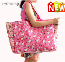 New Hello kitty Handbag Shoulder Bag Purse Tote Shopping Bag yey-2633