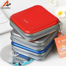 A Ausuky Portable Envelope 40 Disc Capacity DVD CD Case Plastic for Car Media Storage CD Bag -30(China)