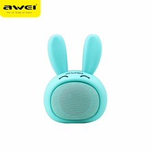 Awei Y700 Bluetooth Speaker Mini Portable AUX Rabbit Lovely Speakers Outdoor Sport Wireless Hifi Loudspeaker for iPhone Xiaomi