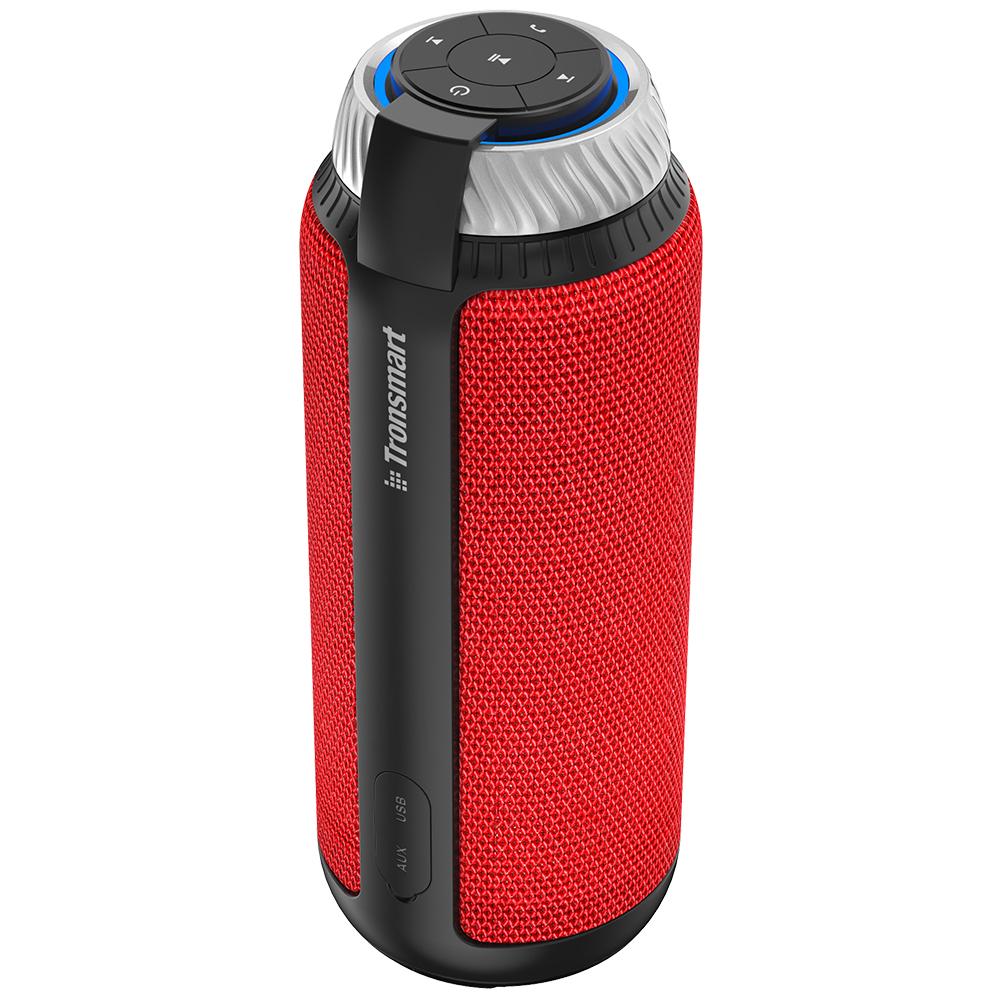 NEW TRONSMART ELEMENT T6 BLUETOOTH PORTABLE SPEAKER WIRELESS SOUNDBAR RECEIVER MINI SPEAKERS RED 0