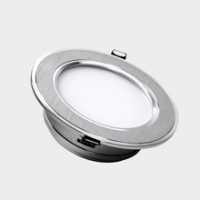 led downlight lamp 5w 7W 9w 12w 15w 18w 230V / 110V ceiling recessed downlights round led panel light free shipping