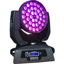 36x15W 5in1 RGBW LED Moving Wash Light With Zoom Dj Disco Club Party Wedding Stage Effect Lighting