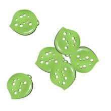 compact style green leaf soap Box dishes kitchen sink sponge holder lovely shape without cover Soap Box 5