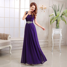 2017 New Women Summer Maxi Dress Sexy Beaded Diamond Lace V-neck Sleeveless Party Dresses Vestidos De Fiesta Hot Sale