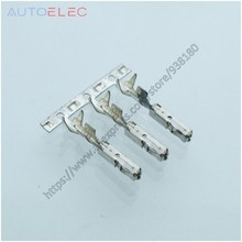 50Pcs 000979150E UNSeal terminals crimp Female terminals (pins) for Audi TE car automotive waterproof connector VW Skoda Seat(China)