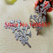 2pc Branches Metal Cutting Dies Stencils DIY Scrapbooking Album Decorative Embossing Folder Suit Paper Cards Template