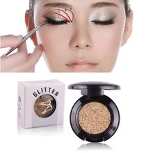 Single Color Eye Shadow Gel Glitter Nude EyeShadow Palette Eyes Makeup Shining Bright Brand Makeup Kits#121(China)