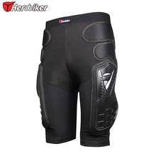 HEROBIKER Breathable Motocross Knee Protector Motorcycle Armor Shorts Skating Extreme Sport Protective Gear Hip Pad Pants P-01