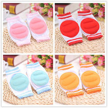 Stylish 1 Pair Kids Elbow Cushion Infants Toddlers Baby Knee Pads Leg Protector(China)