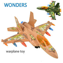 Fighter Jets Combat Aircraft Flashing Lights Sound Electric Aircraft Airplane Model toy for kids