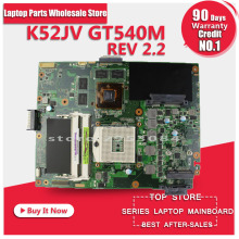 Original for ASUS K52JV Motherboard online buy DDR3 8 memory fully tested free shipping(China)