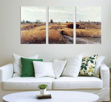3Pcs/Set Harvest Season Quadro Canvas Painting Cuadros Modern Paintings Wall Pictures For Living Room Printed Picture No Frame