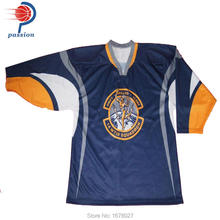 Custom made polyester ice hockey uniform(China)