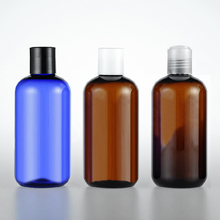 (30pcs/lot) 250ML round plastic empty cosmetic packaging travel bottles 250cc with disc top cap Shower gel bottles