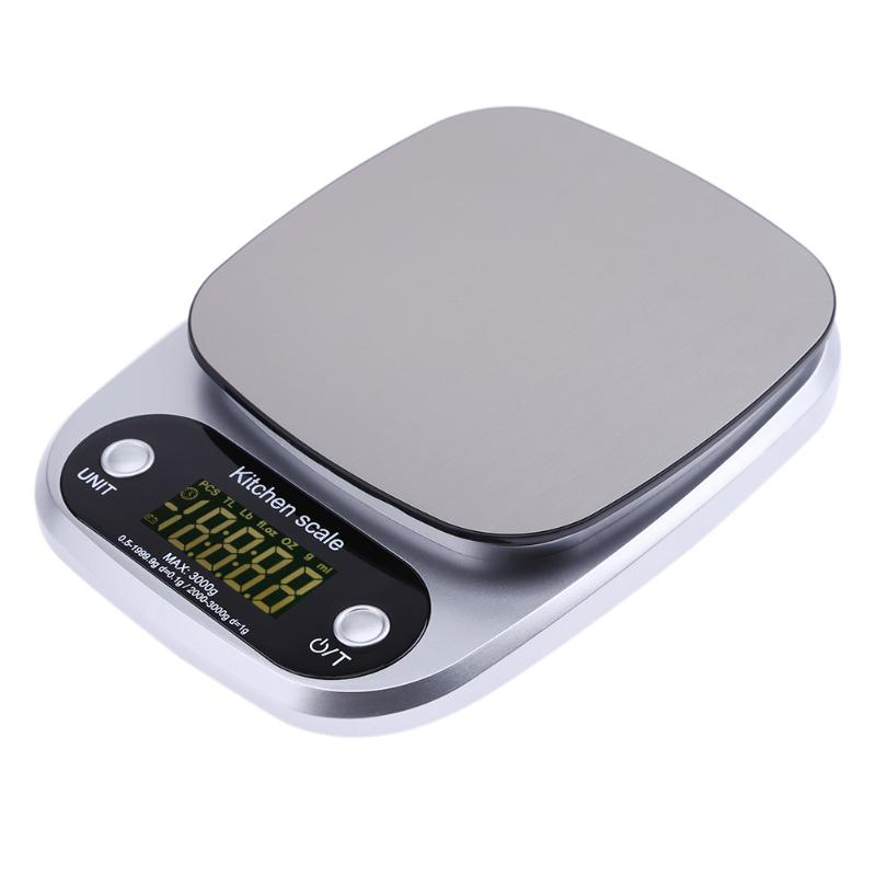 3000g/0.1g LCD Portable Mini Electronic Digital Scales Pocket Case Postal Kitchen Jewelry Weight Balance Digital Scale