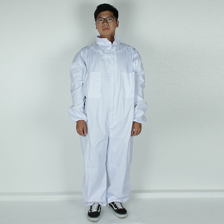 Aolamegs-Apiarist Beekeeping Suit-White-(All-in-One)-Fencing Veil-Total Protection for Professional & Beginner Beekeepers (6)