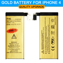Hot sell ! Original ABV Gold High Quality 1420mAh Mobile phone battery for Apple iphone 4 iPhone4 4G IP-4G Battery 2017 New