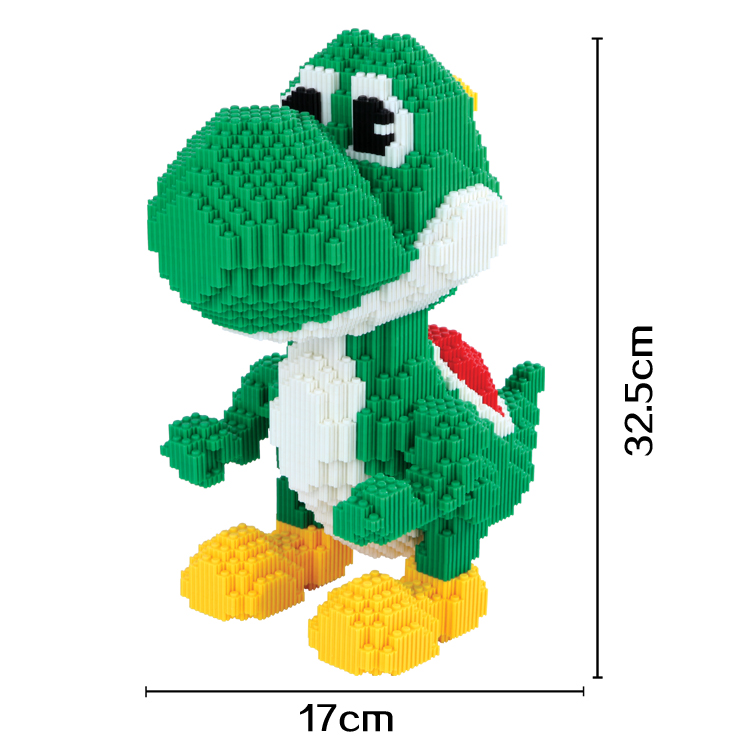 xizai Connection Blocks Big Size Yoshi Building Blocks Anime Juguetes Assemblage Toys 3D Auction Figures Toys for Children 8006<br>