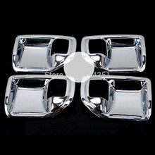 Free Shipping Interior Door Handle Bowl Mouldings Trims Bezel Accessories 4Pcs/Set For Jeep Patriot 2011 2012 2013 2014 2015
