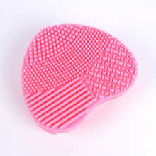 YWK 1 Pc Makeup Brush Cleaner Pad Nail Art Brushes Washing Mat latest Scrubber Tools Makeup Brush Clean Cosmetics Maintenance