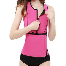 2017 body shaper neoprene waist trainer waistcoat reducer belts weight loss corset fitness sweat tummy slimming belt shaper