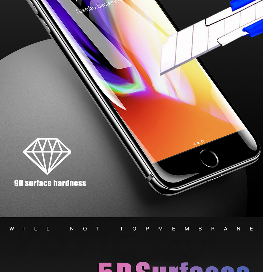 5 For iPhone 5 5s SE Glass For iPhone 6 6s Glass For iPhone X 10 Glass For iPhone 7 7 Plus glass for iphone 8 8 plus glass on the for iphone 7 6 8 5s Protective glass on the iphone 7 6 5s 8 (2)