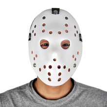 Hot scary black false full face halloween party jason mask masquerade masks costume cosplay decor decoration friday the 13th(China)