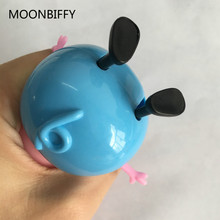 4pcs/lot Mummy Daddy plastic pig toys PVC Action Figures Family Member pig Toys Baby Kid Birthday Gift(China)