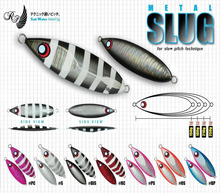 Free Shipping! New arrival Slow jig lead fish lure 60 - 120g metal jigs slow jigging lures saltwater fishing lures