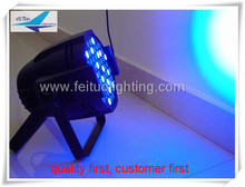 24lot LED lights for cars 54x3w feituo rgb led par can