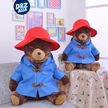 Dressing teddy bear with hat freddy bear 1pcs 60cm 23inch jumbo teddy bear new year birthday gift