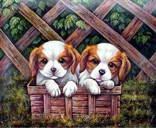mosaic pictures,chinese embroidery,daimond painting animals,diamond embroidery dogs(China)