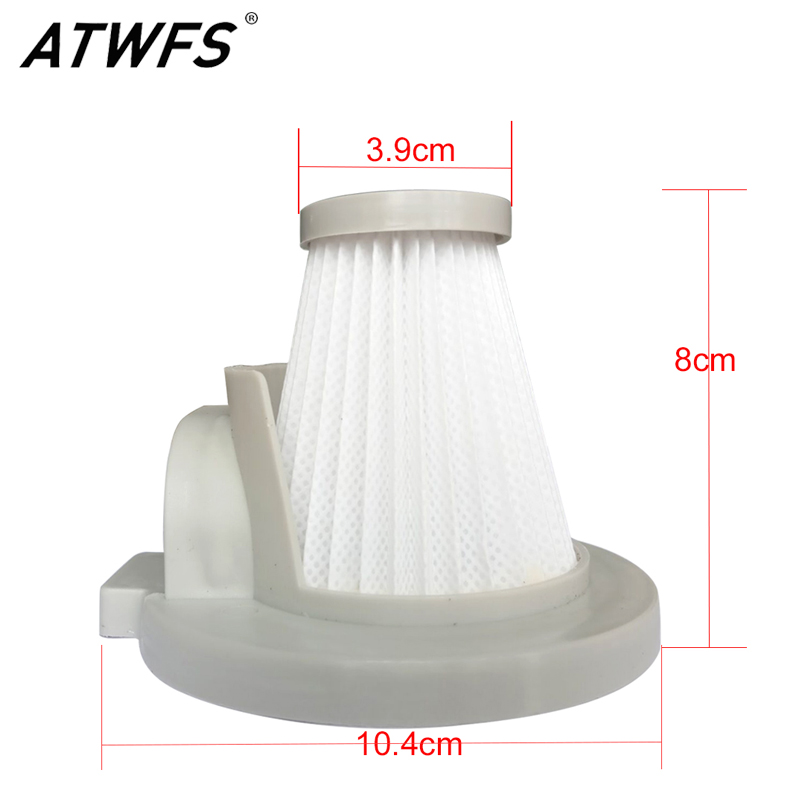 ATWFS Dedicated Vacuum Cleaner Parts Filter Dust Collector Accessories HEPA Filter(China)