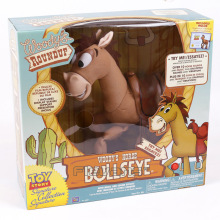 Toy Story Woody's Horse Bullseye with Music and Sound Effect PVC Action Figure Collectible Model Toy 35cm(China)