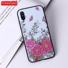 Buy TOMOCOMO Flower Patterned Case iPhone 6 6s 7 Plus Cover Soft Silicone Floral Protect Cover iPhone 8 8Plus Phone Cases for $3.99 in AliExpress store