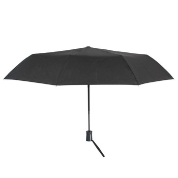 Susino Windproof Umbrellas Fully-automatic Open Sturty Metal 180D  Pongee Compact Durability Three-folding Umbrella 3411B