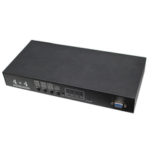 Multimedia  SDI Matrix 4x4 Switcher , 4 To 4 Converter for 3G HD SD Monitor Security Camera CCTV Video