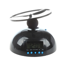 Practical Crazy Annoying Flying Helicopter Alarm Clock(China)
